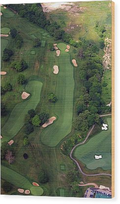 Philadelphia Cricket Club Wissahickon Golf Course 12th Hole Wood Print by Duncan Pearson