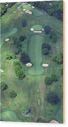 Philadelphia Cricket Club Wissahickon Golf Course 14th Hole Wood Print by Duncan Pearson