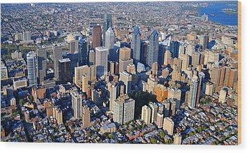 Philadelphia Rittenhouse Squarea 0471 Wood Print