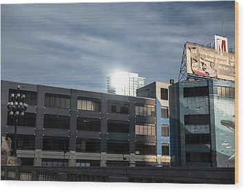 Wood Print featuring the photograph Philadelphia Urban Landscape - 1195 by David Sutton