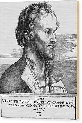 Philipp Melanchthon Wood Print by Granger