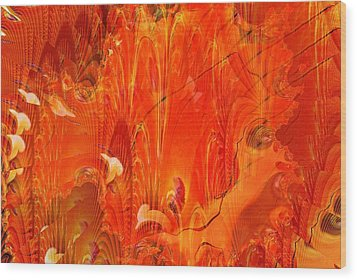 Phoenix Wood Print by Don  Wright