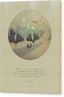 Phoenix-like Wood Print by AugenWerk Susann Serfezi