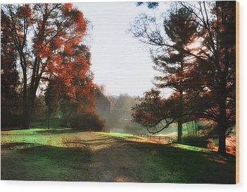 Picture Perfect Morning Wood Print by Bill Cannon