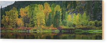 Wood Print featuring the photograph Picturesque Tumwater Canyon by Dan Mihai