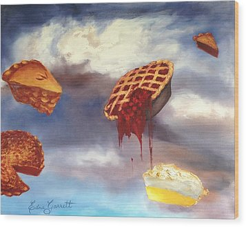 Pie In The Sky Wood Print