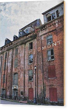 Piedmont Mill Wood Print by Alan Raasch