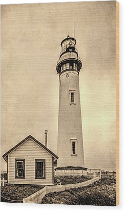 Pigeon Point Light Station Pescadero California Wood Print