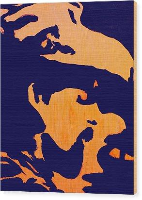 Pigpen Wood Print by Gayland Morris
