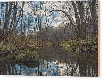 Wood Print featuring the photograph Pine Creek by Dan Traun