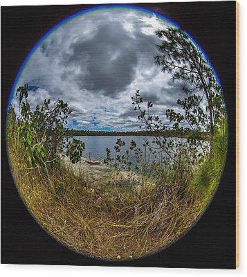 Pine Glades Lake 18 Wood Print