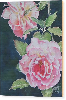 Pink Beauties  Sold  Original Wood Print