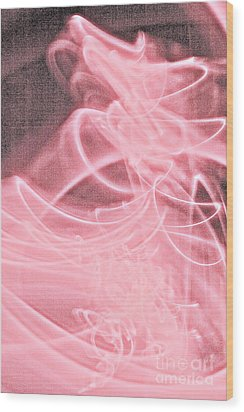 Wood Print featuring the painting Pink by Xn Tyler