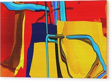 Pipe Dream Wood Print by Richard Rizzo