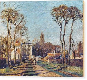 Pissarro: Voisins, 1872 Wood Print by Granger