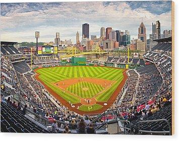 Pittsburgh Pirates  Wood Print by Emmanuel Panagiotakis