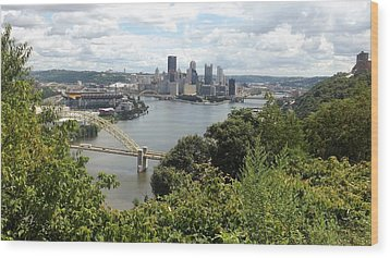 Pittsburgh Series 2  Wood Print by Joyce Wasser