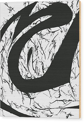 Plasmogamy032 Wood Print by TripsInInk