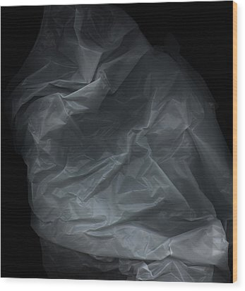 Plastic1 Wood Print by Werner Hammerstingl