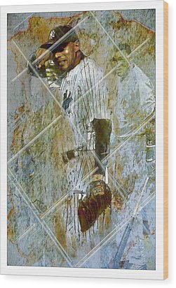 Play Ball Wood Print by James Robinson