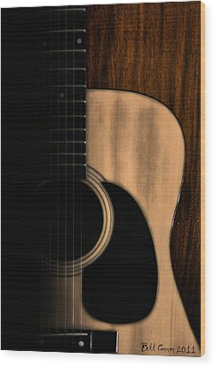 Play Me Wood Print by Bill Cannon