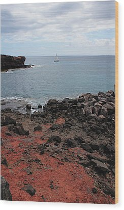 Playa Blanca - Lanzarote Wood Print by Cambion Art
