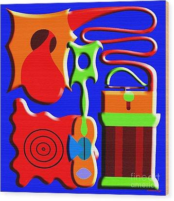 Playing Music Wood Print by Patrick J Murphy