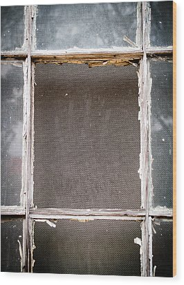 Please Let Me Out... Wood Print