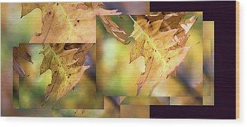 Pleasures Of Autumn -  Wood Print