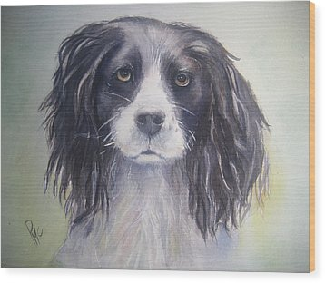 Pleeeese Play Wood Print by Patricia Pushaw