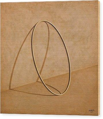 Plenty Of Emptiness Wood Print by Horacio Cardozo
