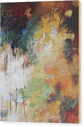 Plush Wood Print by Elizabeth Chapman