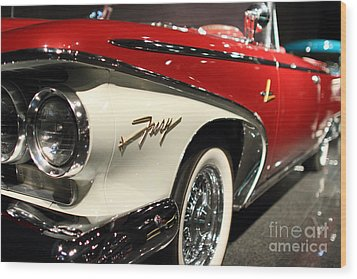 Plymouth Fury Wood Print by Wingsdomain TransportationArt