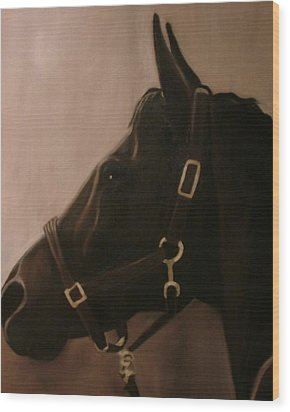 Pocketchange Wood Print by Donna Thomas