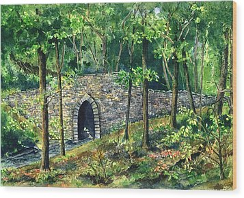 Poinsett Bridge  Wood Print