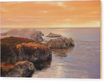 Point Lobos  Wood Print by Utah Images