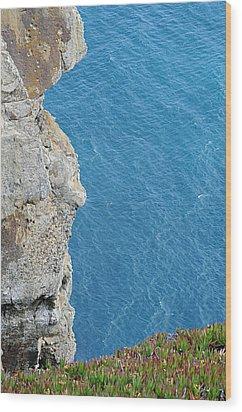Point Reyes Cliffs Wood Print