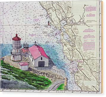 Point Reyes Light Station Wood Print
