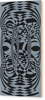 Points 7-9-2 Wood Print by Evelyn Patrick