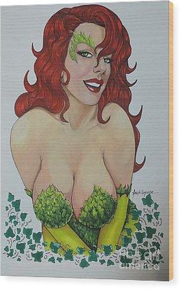 Poison Ivy Wood Print