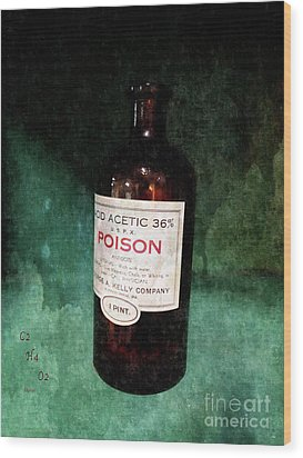 Poison  Wood Print by Steven Digman