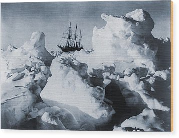 Polar Explorer, Ernest Shackletons Wood Print by Everett