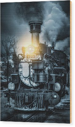 Wood Print featuring the photograph Polar Express by Darren White