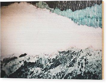 Polar Shift Wood Print by Ryan Kelly