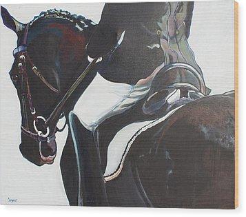 Polish And Shine Wood Print by Stephanie Come-Ryker