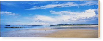 Pollan Strand, Inishowen, County Wood Print by The Irish Image Collection