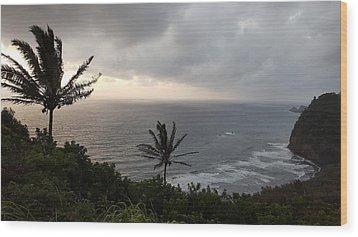 Pololu Valley, Hawaii Wood Print