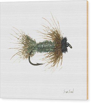 Poly Rosborough's Casual Dress Wood Print by Sean Seal