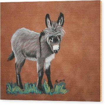Poncho Wood Print