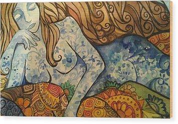 Ponder Wood Print by Claudia Cole Meek